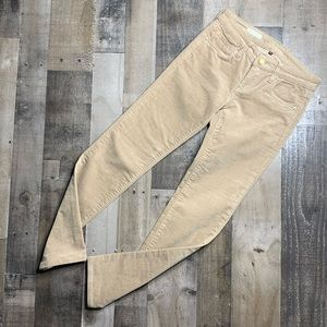 Kut From The Kloth Diana Skinny Tan Corduroy Pants